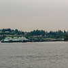 Looking back at the Annacortes ferry terminal.