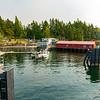 Shaw Island ferry terminal.
