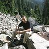Rami Along Snow Lake Trail