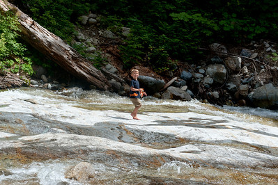 Aaron at Denny Creek