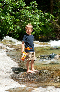 Aaron at Denny Creek.