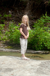 Hannah at Denny Creek.