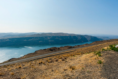Columbia river near Vantage, WA.  (Where I-90 crosses the Columbia.)