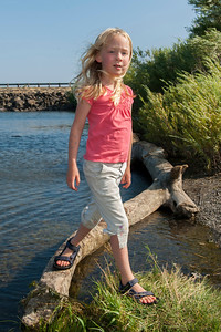 Hannah at the Columbia River near Vantage, WA