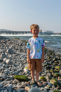 Aaron near the Wanapum Dam on the Columbia River just south of Vantage, WA
