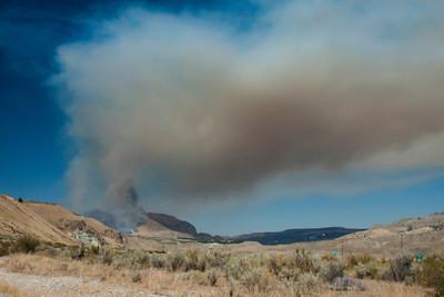 Antoine Creek Fire - Chelan - 8-2012