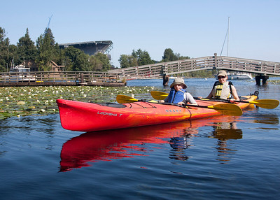 Paddling in Portage Bay and Arboretum