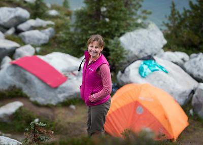 Tuck Lake & Robin Lakes Labor Day Hike - 9/1/2014