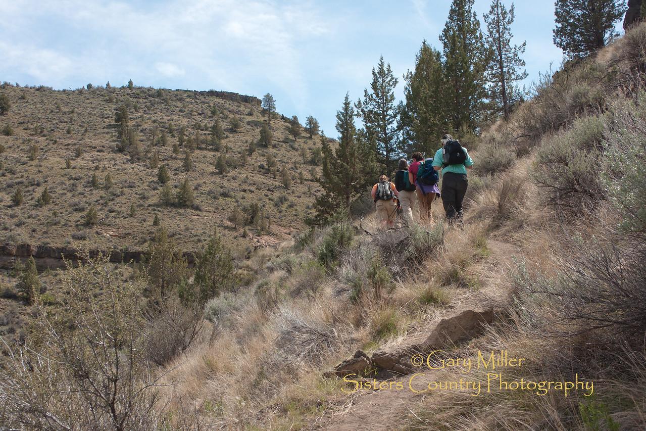 Alder Springs DB Land Trust Geology Hike - April 2011 - Image by Gary Miller