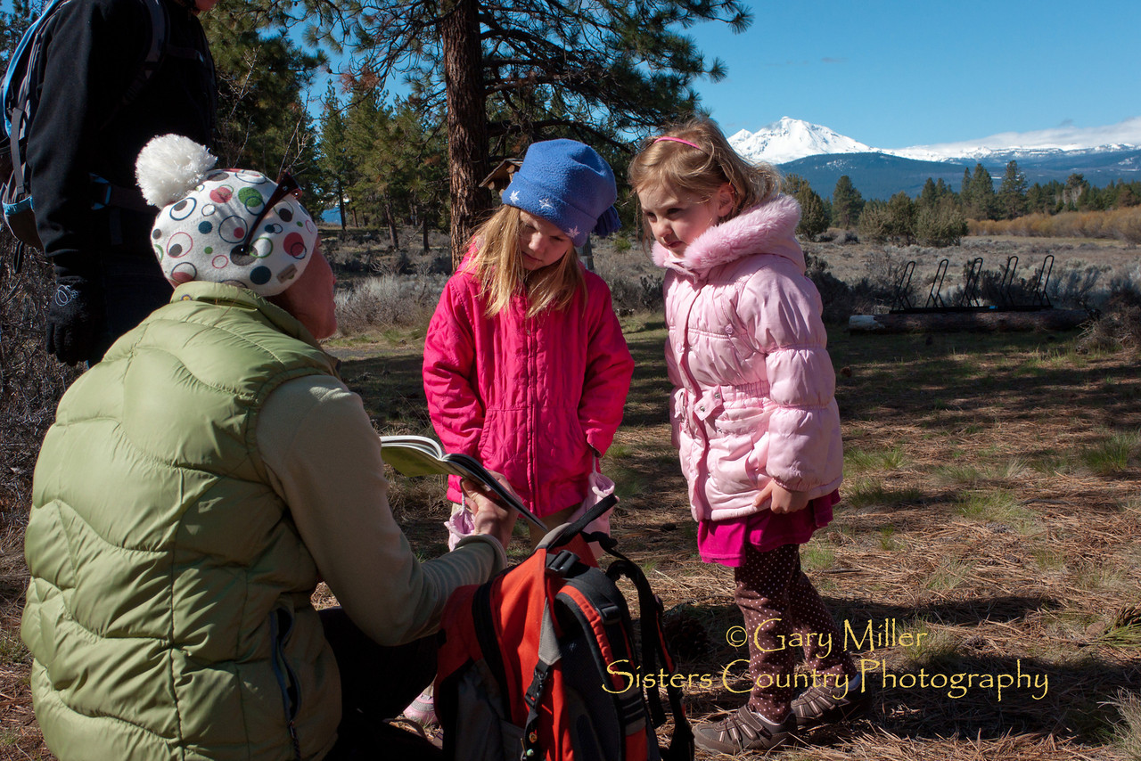 Earth Day Kids Walk at Indian Ford Meadow 2011 - Photo by Gary Miller - Sisters Country Photography