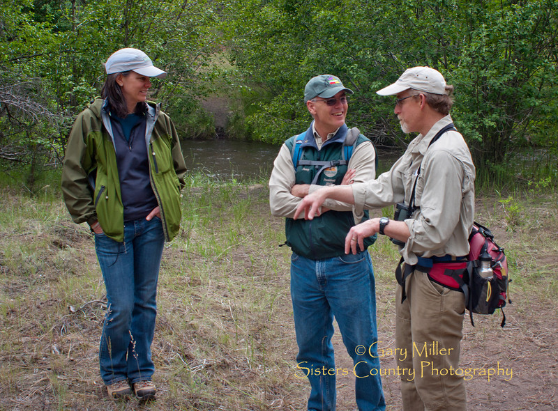 Deschutes Basin Land Trust's Whychus Canyon Preserve's Dedication and Grand Opening day - Photo by Gary N. Miller - Sisters Country Photography