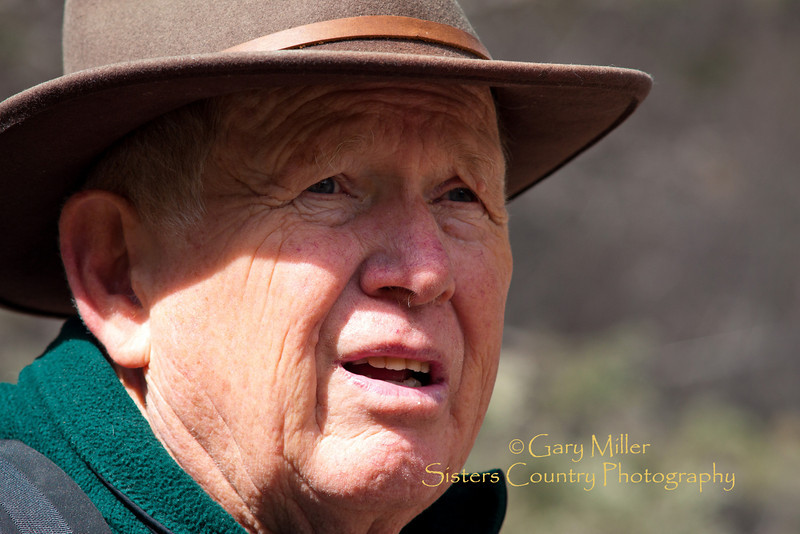 Paul Edgerton - Whychus Canyon Preserve Tour Leader Orientation Hike - April 2011