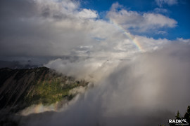 glory and a rainbow