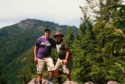 Christopher and I at Barlow Point
