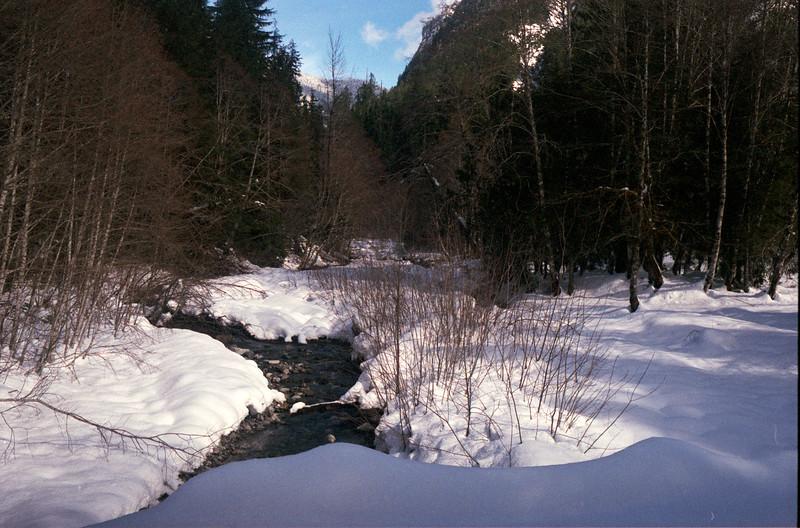 Creek from Mountain Loop Hwy
