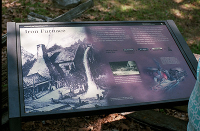 Iron Furnace Sign