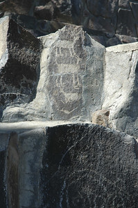 Petroglifs, Gingko state park Vantage WA