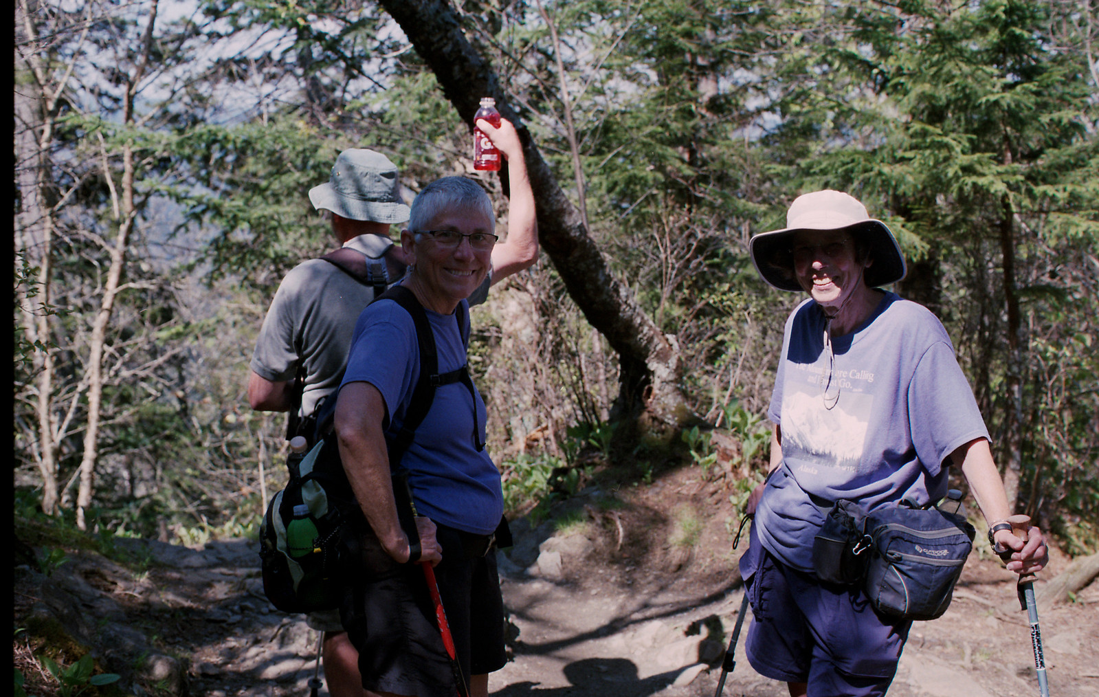 Hikers on Appalachian Trail