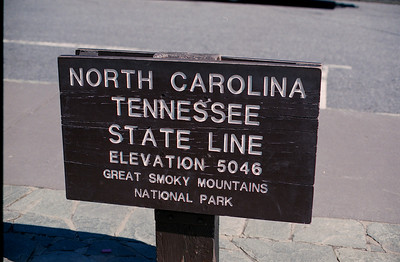 Newfound Gap Sign