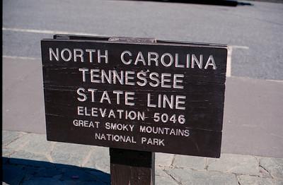 Newfound Gap Sign