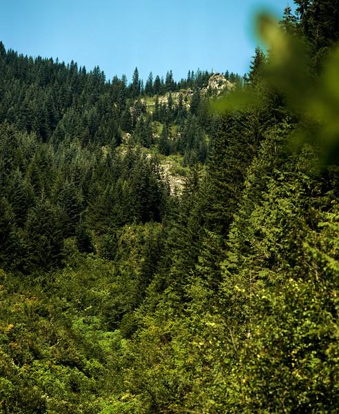 Spillway off Iron Goat Trail