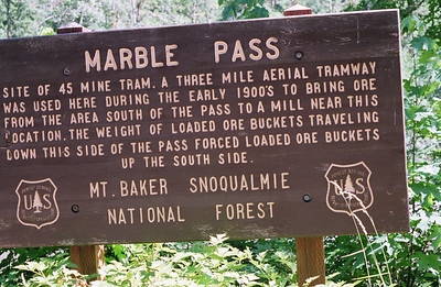 Marble Pass sign