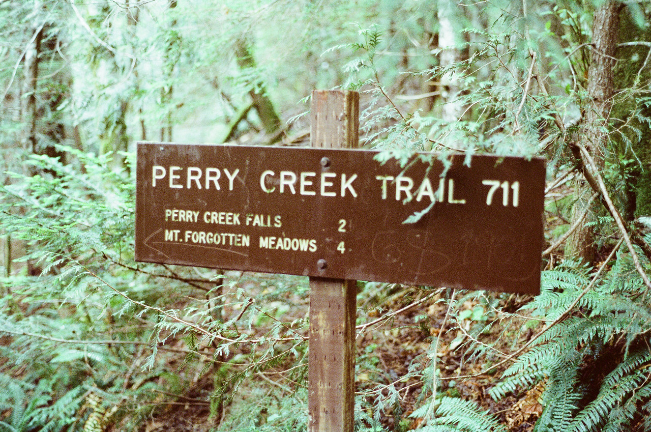 Perry Creek Trail Sign