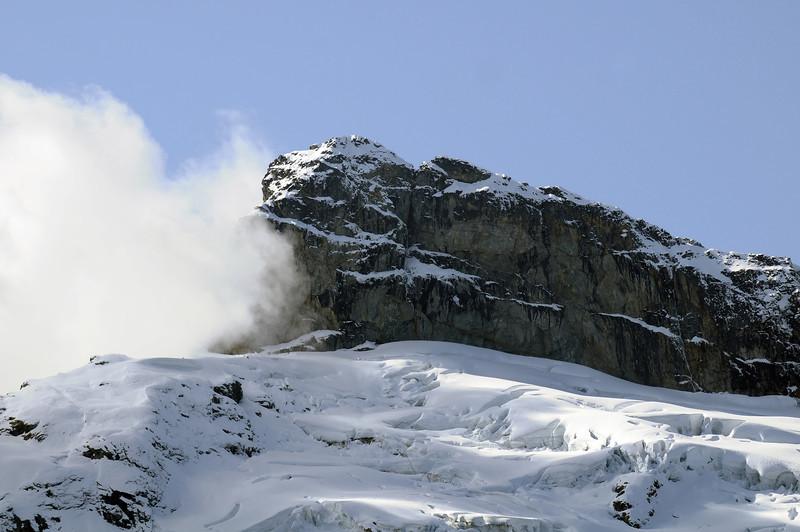 Slone Peak and Slone Glacier