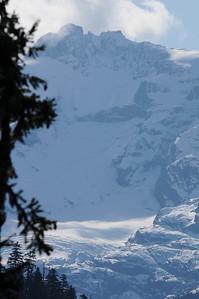 Monte Cristo Peak & glacier
