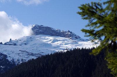 Slone Peak and Slone Glacier
