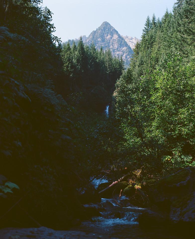 Waterfall off Wedel Creek Trail