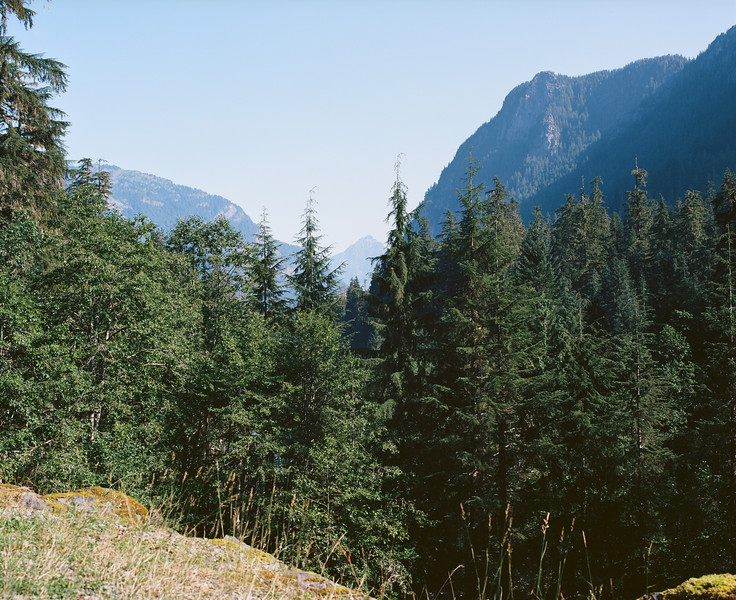 View from old road to Monte Cristo
