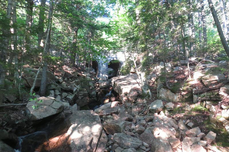 Double arched bridge over Deer Brook