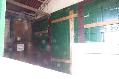 Inside the Warden's cabin