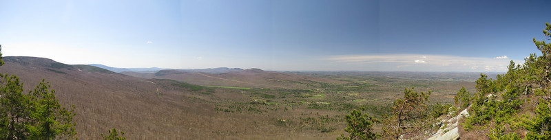 180 degree view from Sugarloaf