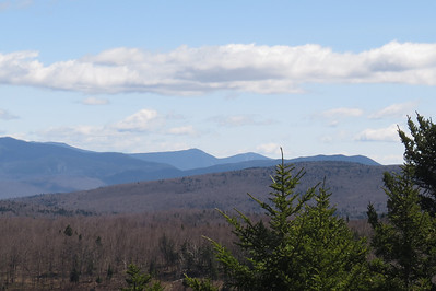 Liberty, Flume and the long ridge of Wolf
