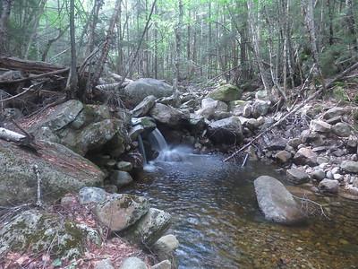 One of many mini cascades