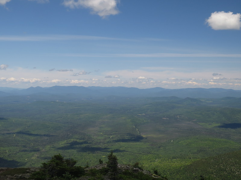 Northwest view from the Percys to Dixville, lots of familiar hiking territory