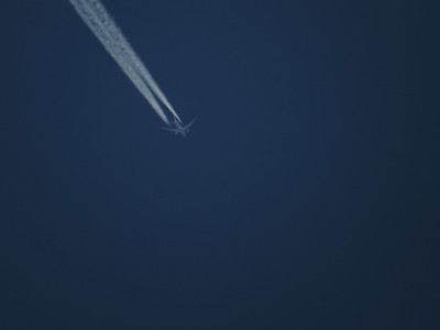 Guessing its a Dreamliner by the wings