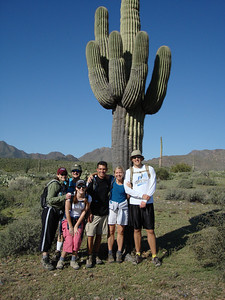 13 Mile Hike Across the McDowell Mountains