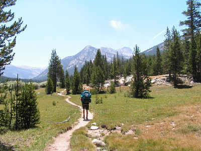 Day 1 - On the way to Donahue Pass