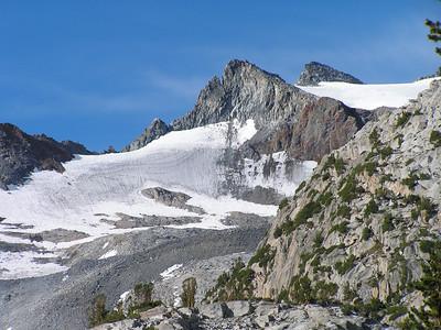 Glacier below Mt. Lyell