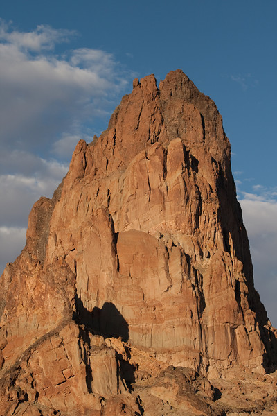 Entering Monument Valley