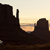 Monument Valley - Mittens Sunrise (Edit)