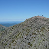 Pamola Peak viewed from Chimney Peak...trail from here to there crosses a short steep notch