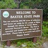 Awesome park...no stores, no electricity, no running water, no flush toilets, no showers, nearest town 18 miles away