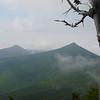 Next day, walking along Franconia Ridge looking back at Mt Liberty...Mt Flume on left