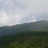 Looking back up Mt Lafayette