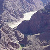 From Plateau Point we can see Bright Angel Trail snaking toward the Colorado River