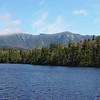 Lonesome Lake and Franconia Ridge